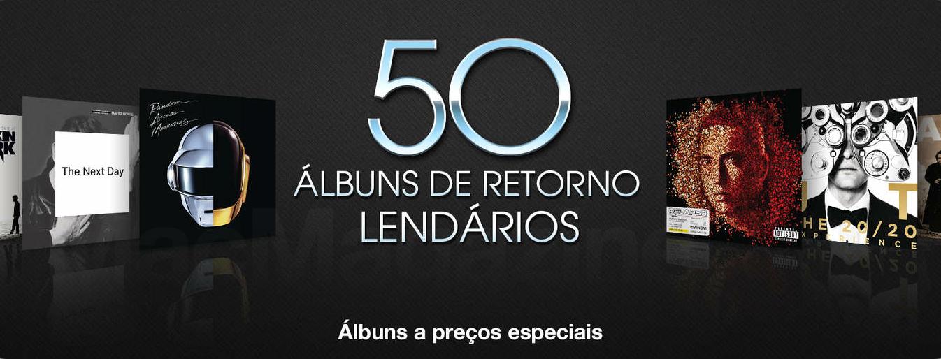 50 álbuns de retorno lendários