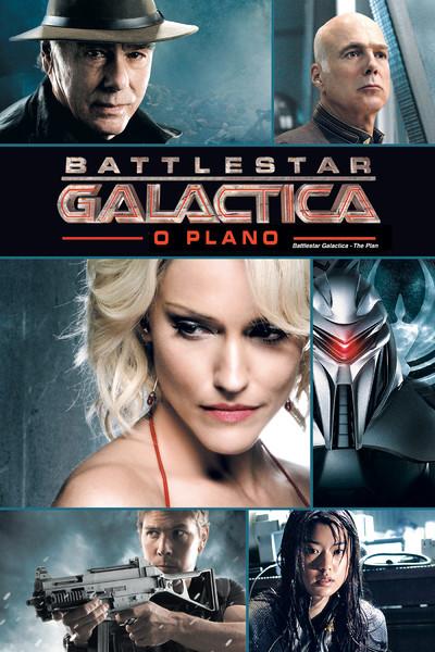"""Cartaz do filme """"Battlestar Galactica: O Plano"""""""