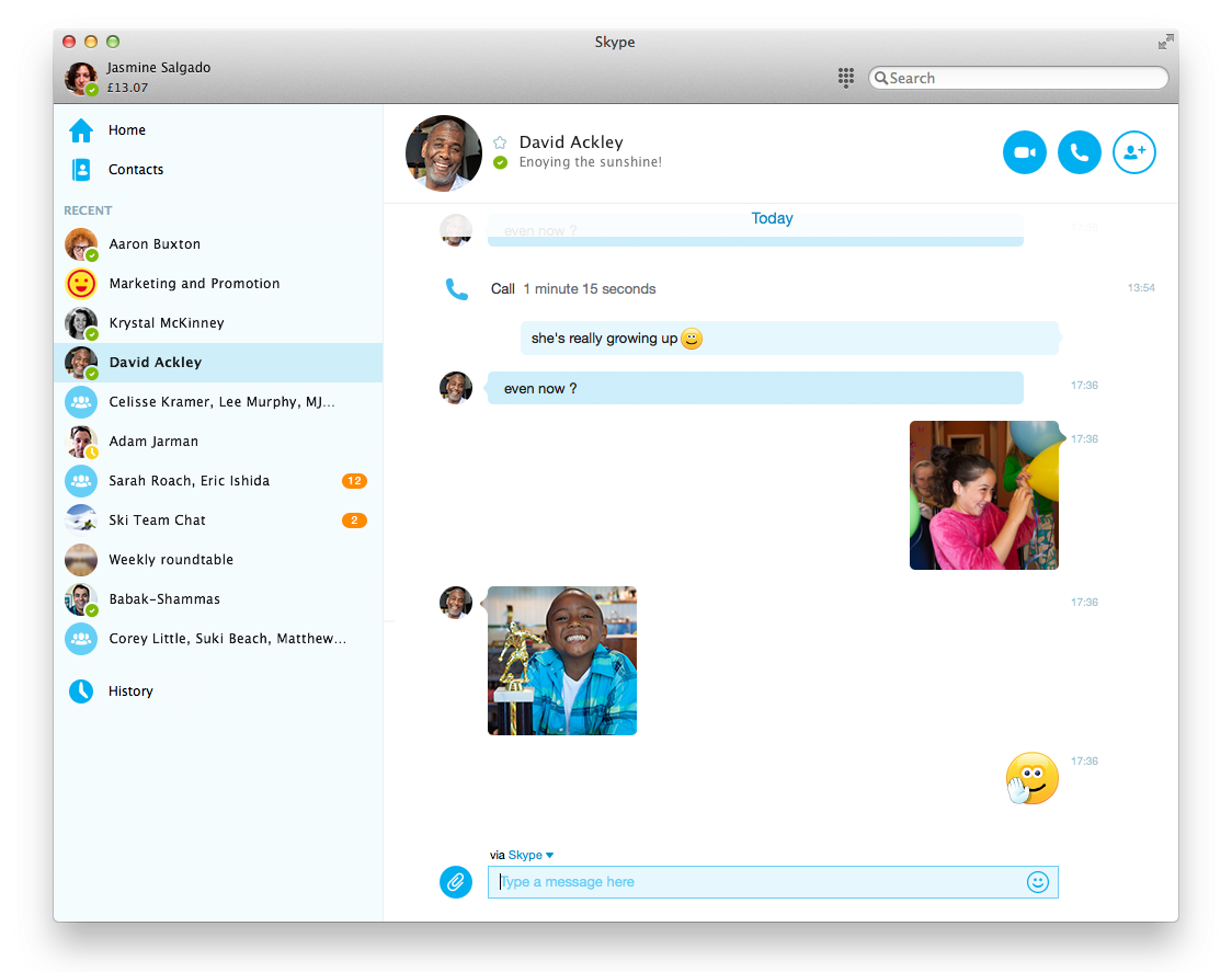 Skype 7.0 para Mac