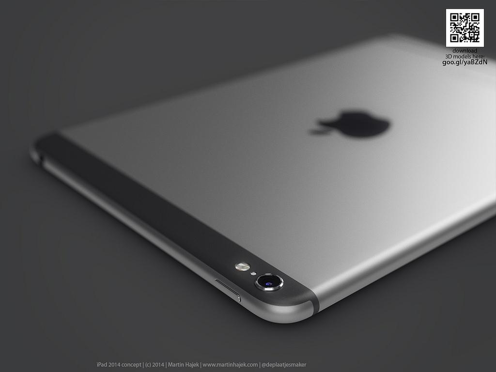 Conceito de iPads com visual do iPhone 6