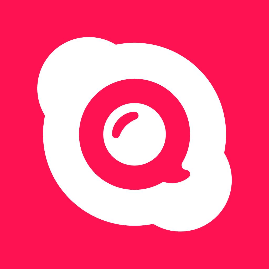 Ícone - Skype Qik