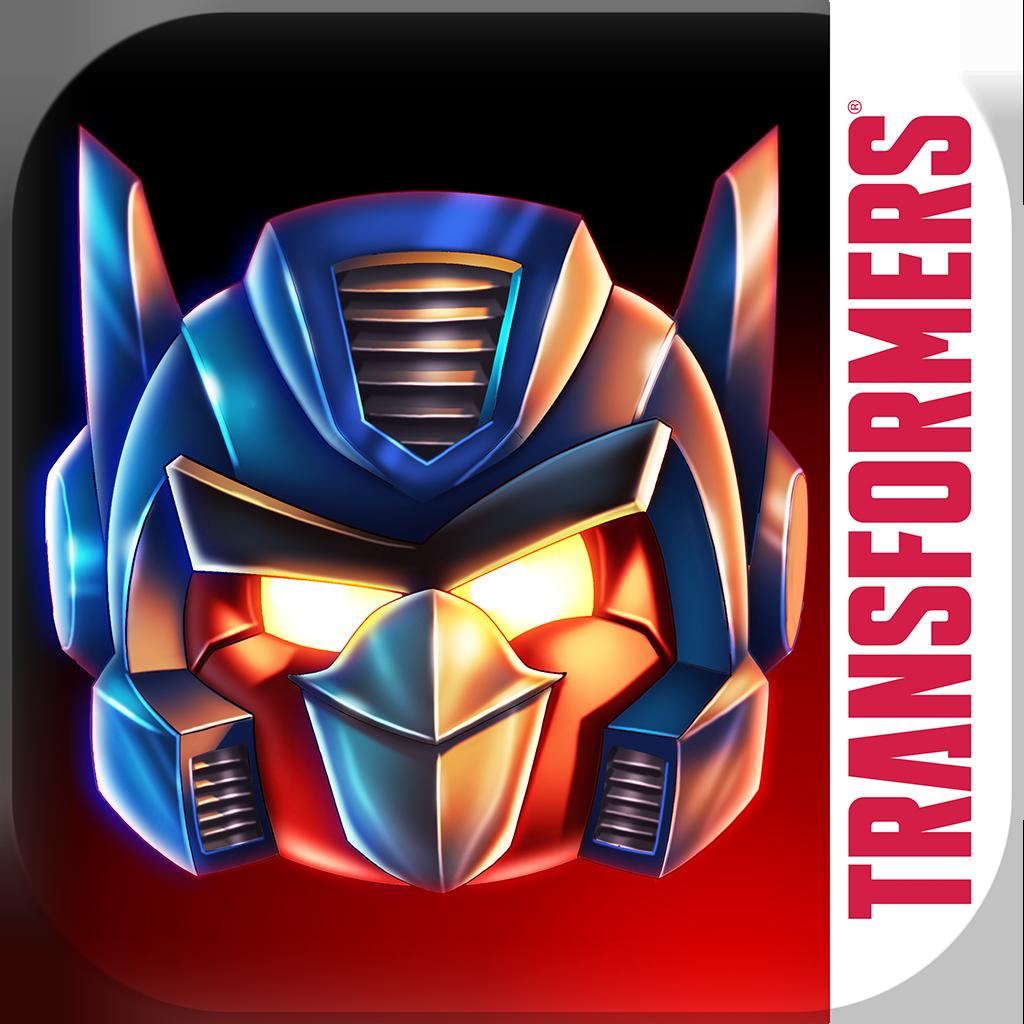 Ícone do jogo Angry Birds Transformers para iOS