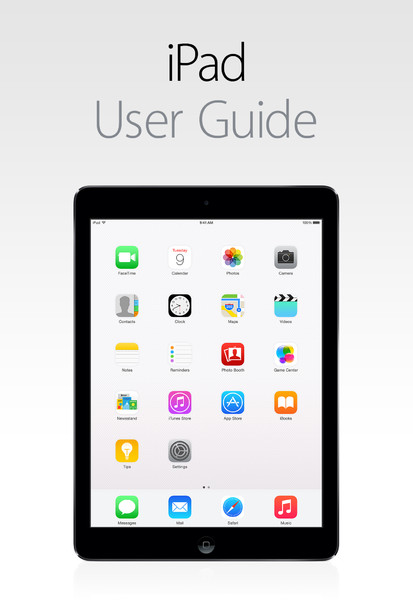 Manual do iPad Air 2 e do iPad mini 3