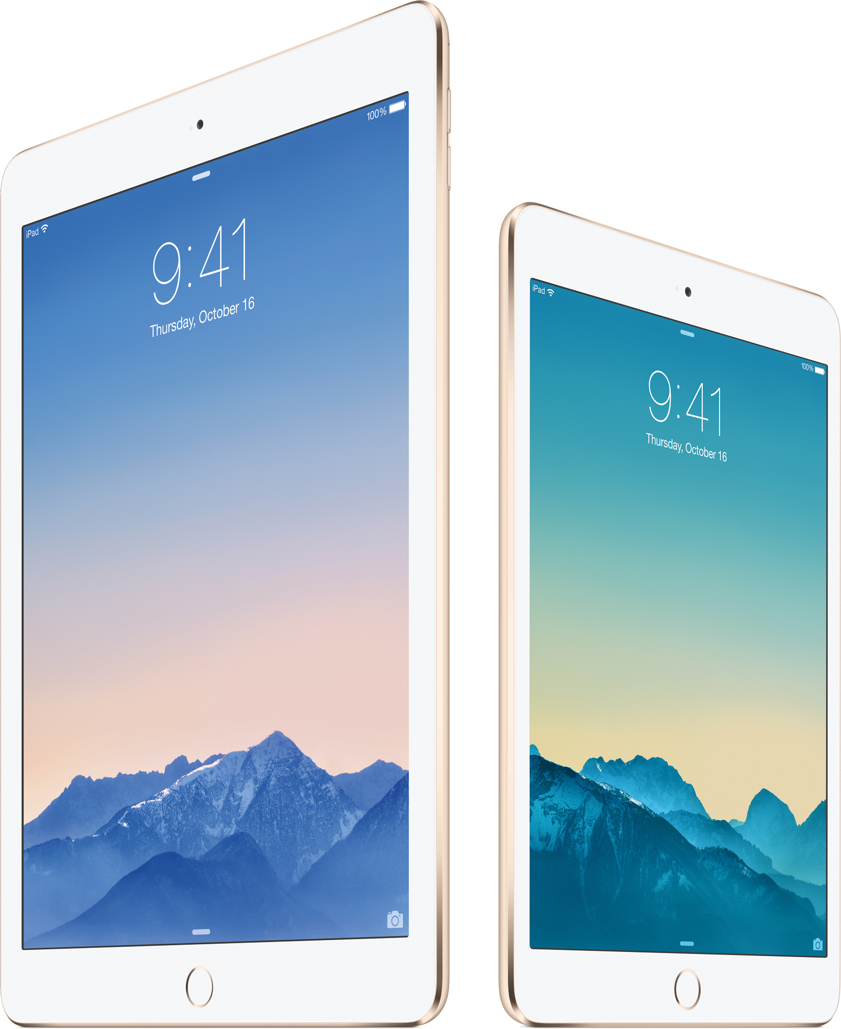 iPad Air 2 e iPad mini 3