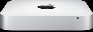 Novo Mac mini de frente