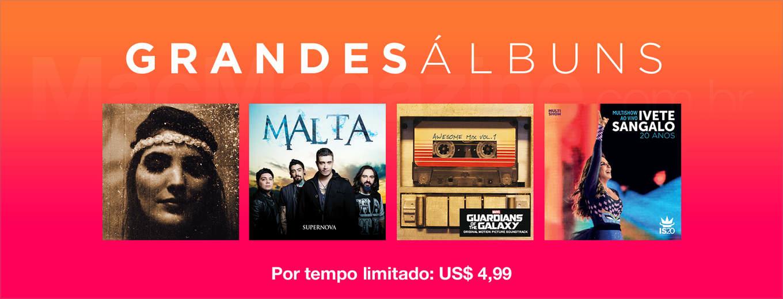 Grandes álbuns na iTunes