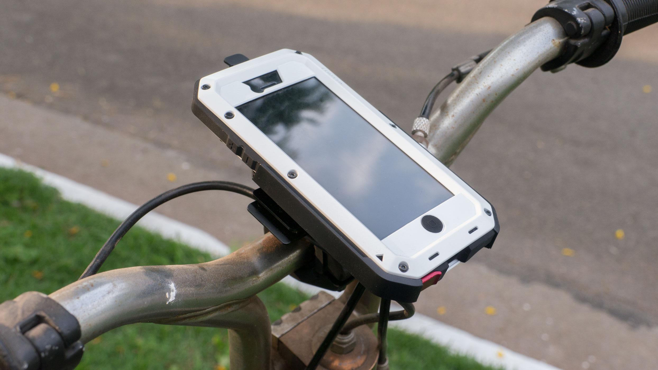 Suporte para barras e bicicletas, da Lunatik