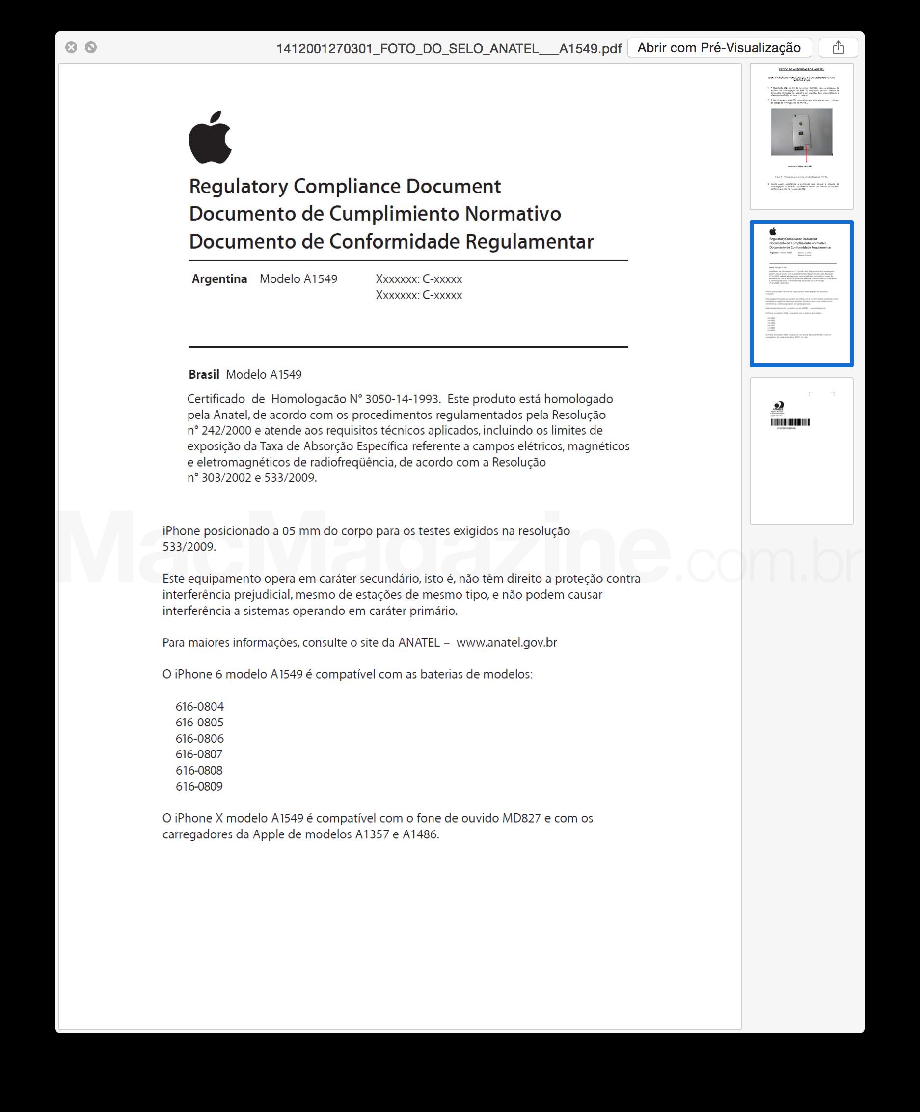 Documento - Anatel - A1549