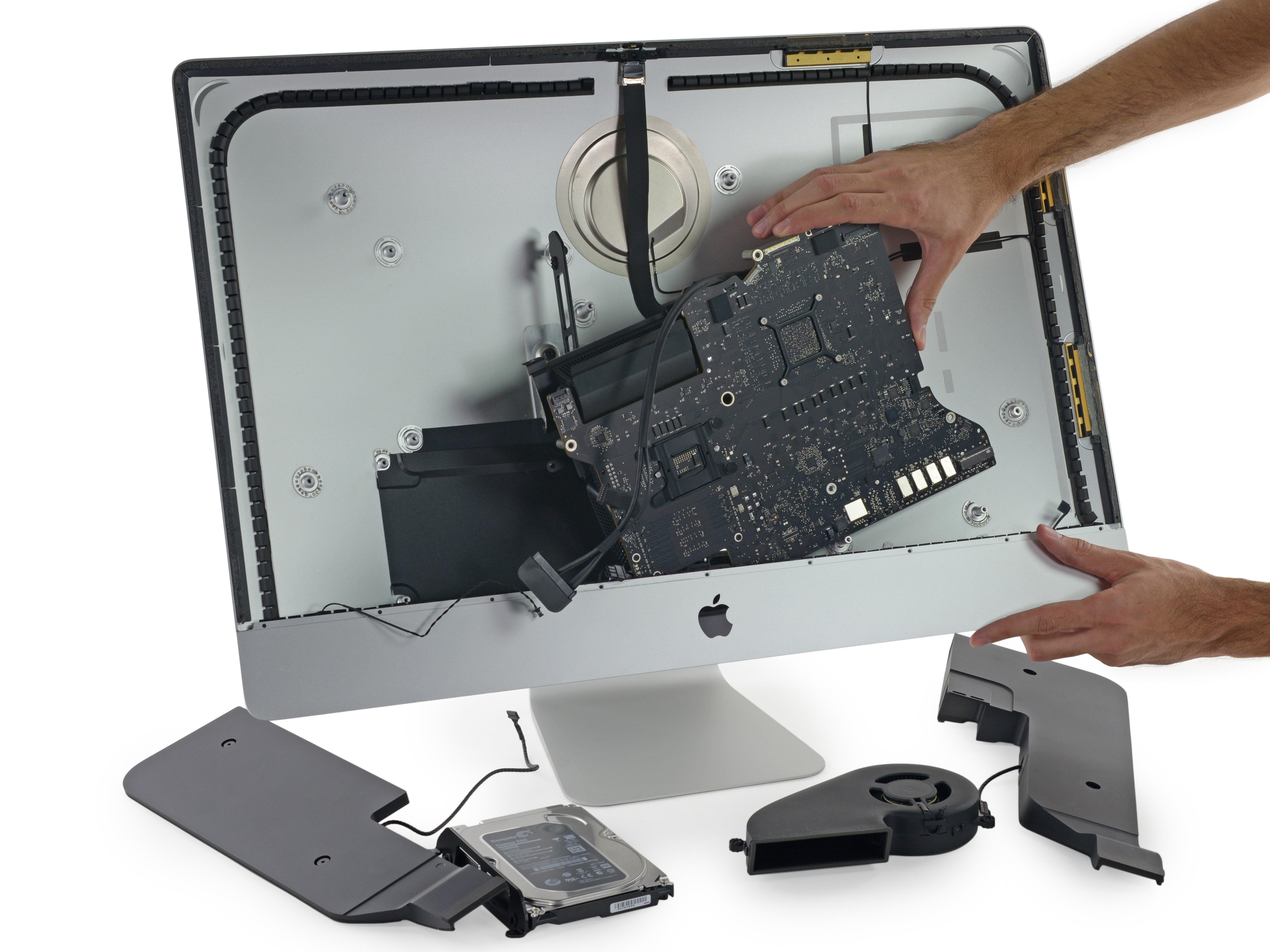 Desmontagem do iMac com tela Retina 5K (iFixit)