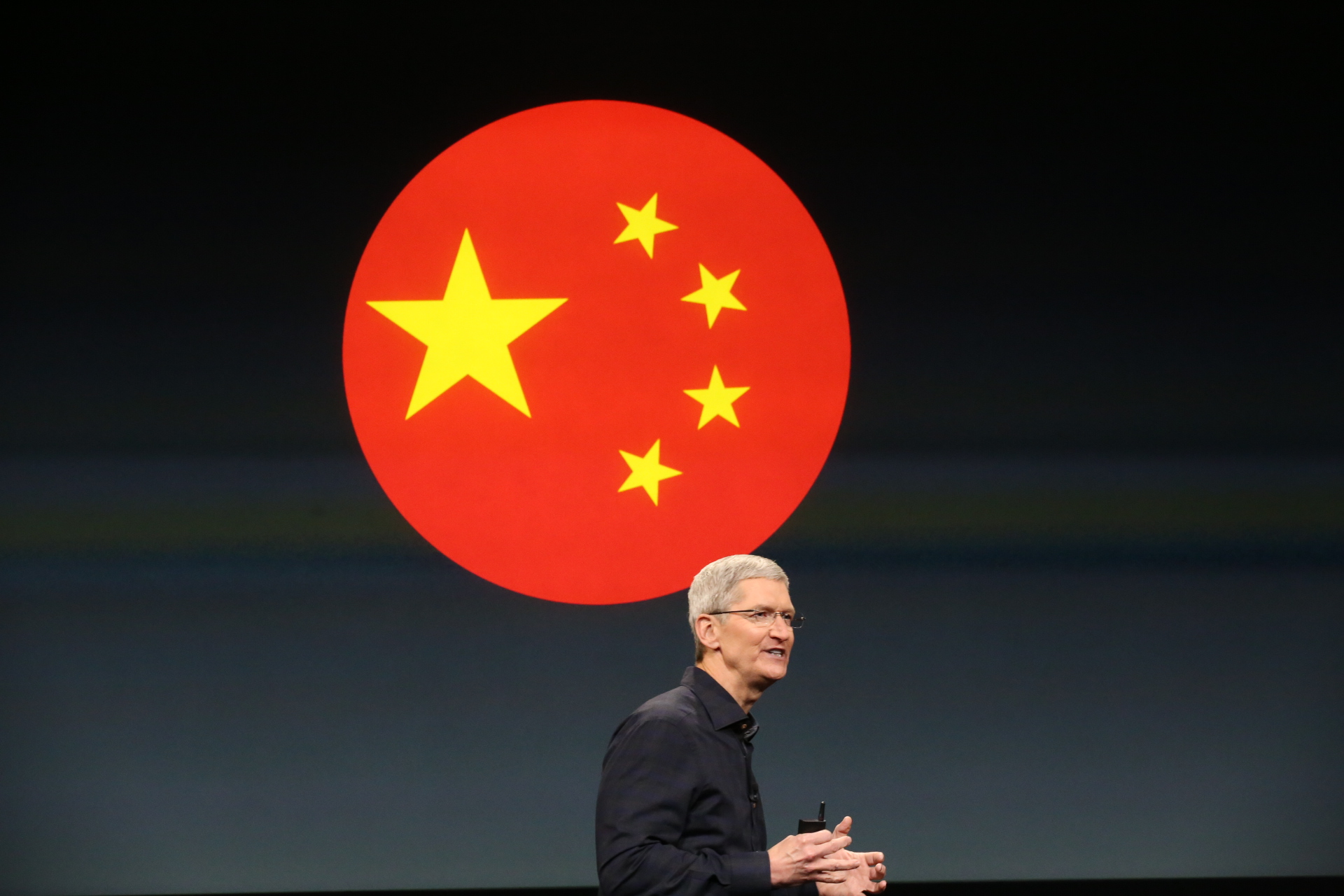 Tim Cook e China
