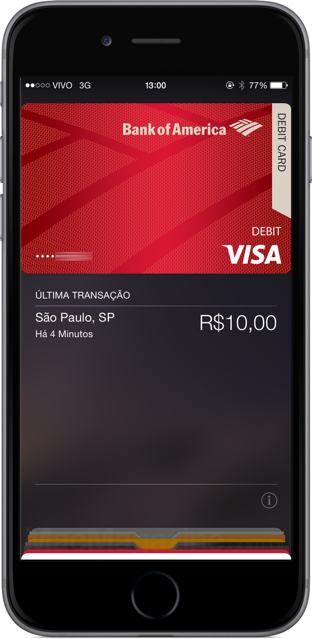 Usando o Apple Pay