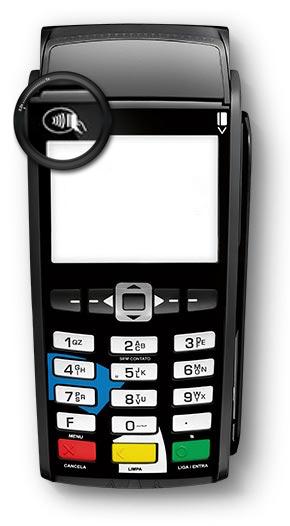 Máquina para pagamento de contas com cartão de crédito