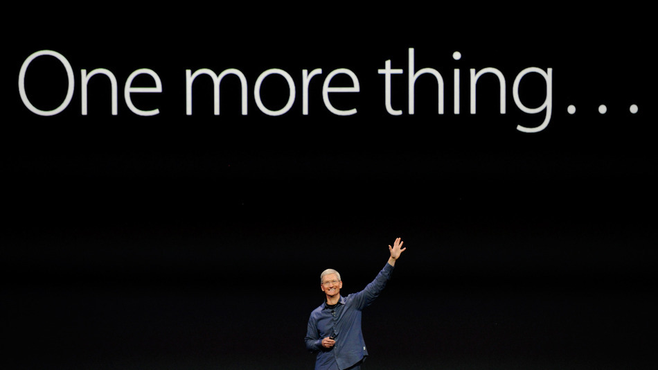Tim Cook - One more thing…