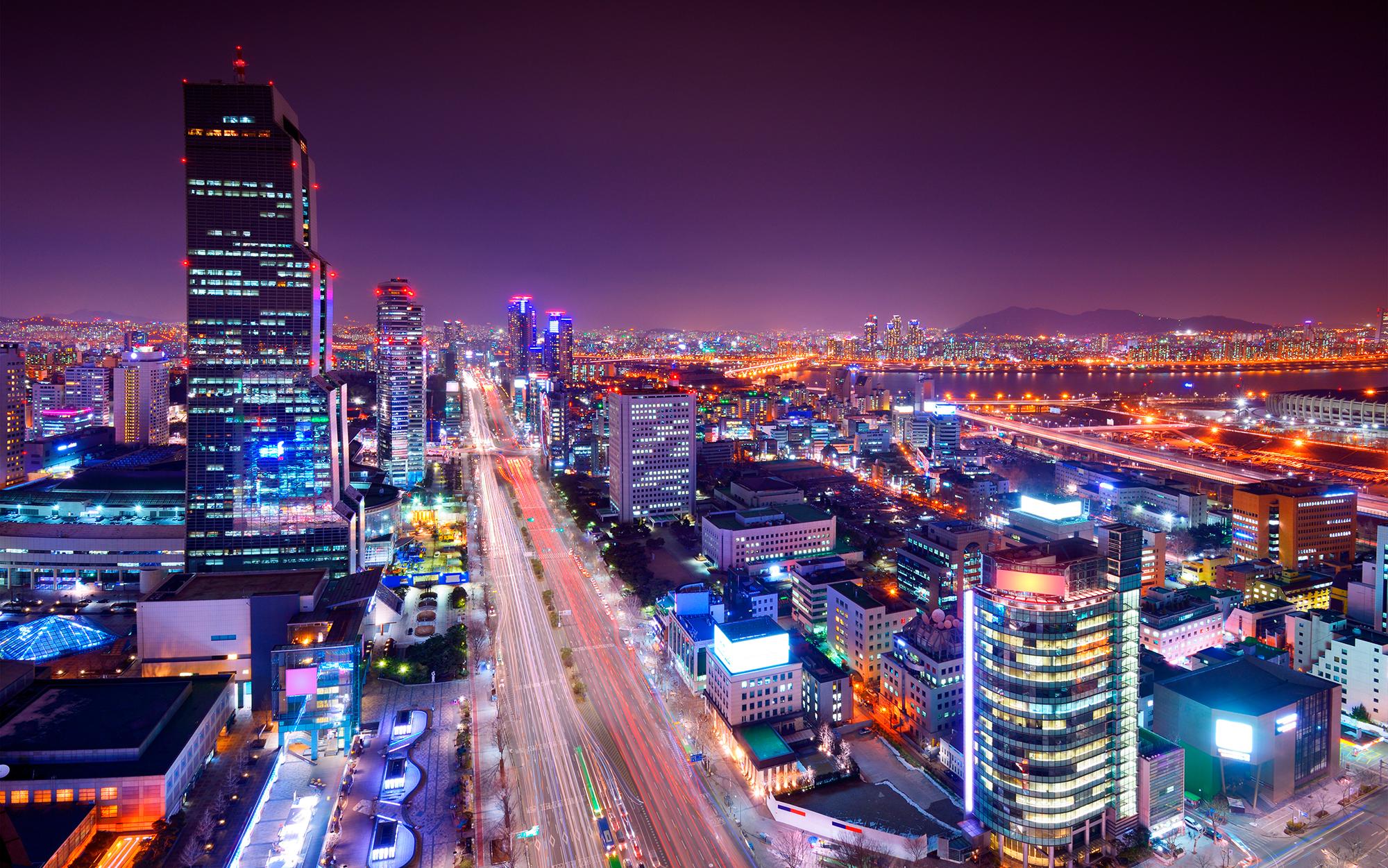 Distrito de Gangnam em Seul