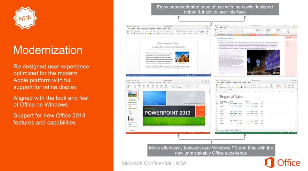 Microsoft Office para Mac 2015