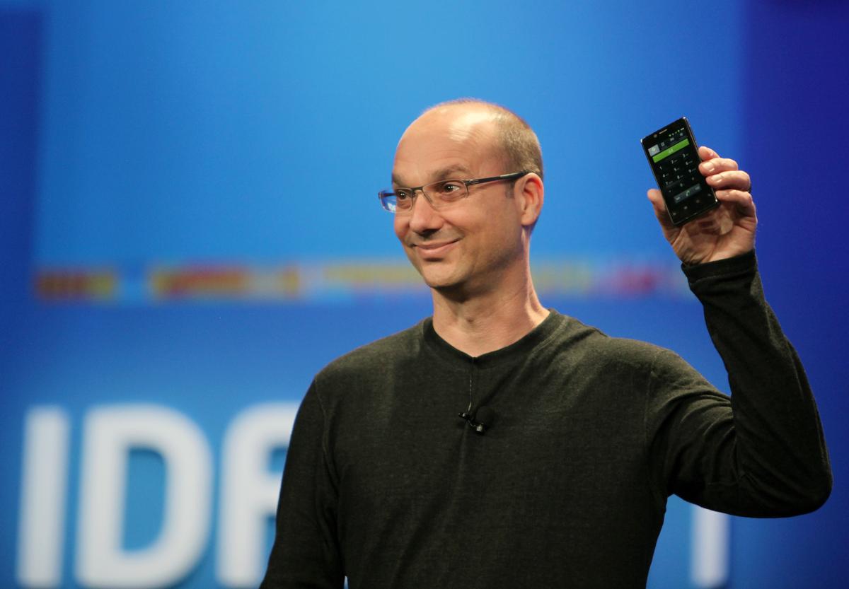 Andy Rubin, ex-Google e ex-Apple