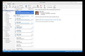 Novo Microsoft Outlook para Mac