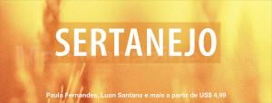 Sertanejo na iTunes Store