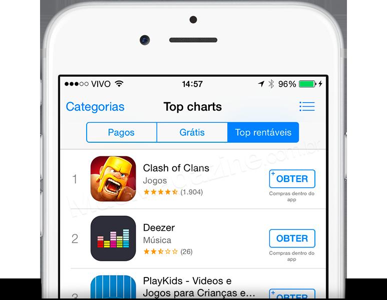 Botão Obter na App Store