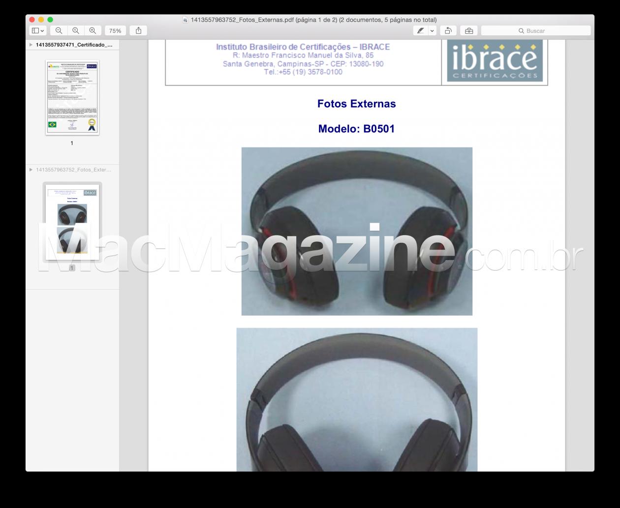 Anatel - Beats Studio Wireless