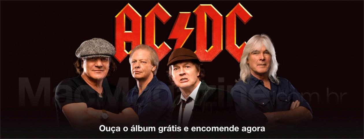 Ouça grátis o novo álbum do AC/DC