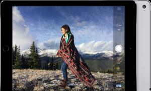 Câmera do iPad Air 2