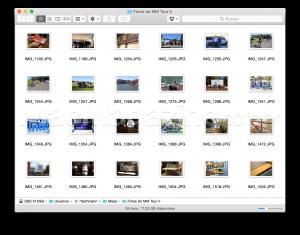 Renomeando arquivos em massa no Finder do OS X Yosemite