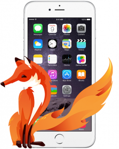 Firefox no iPhone