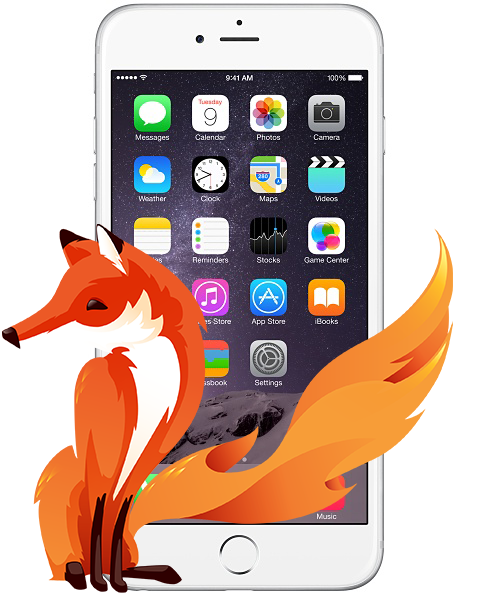 Firefox no iPhone
