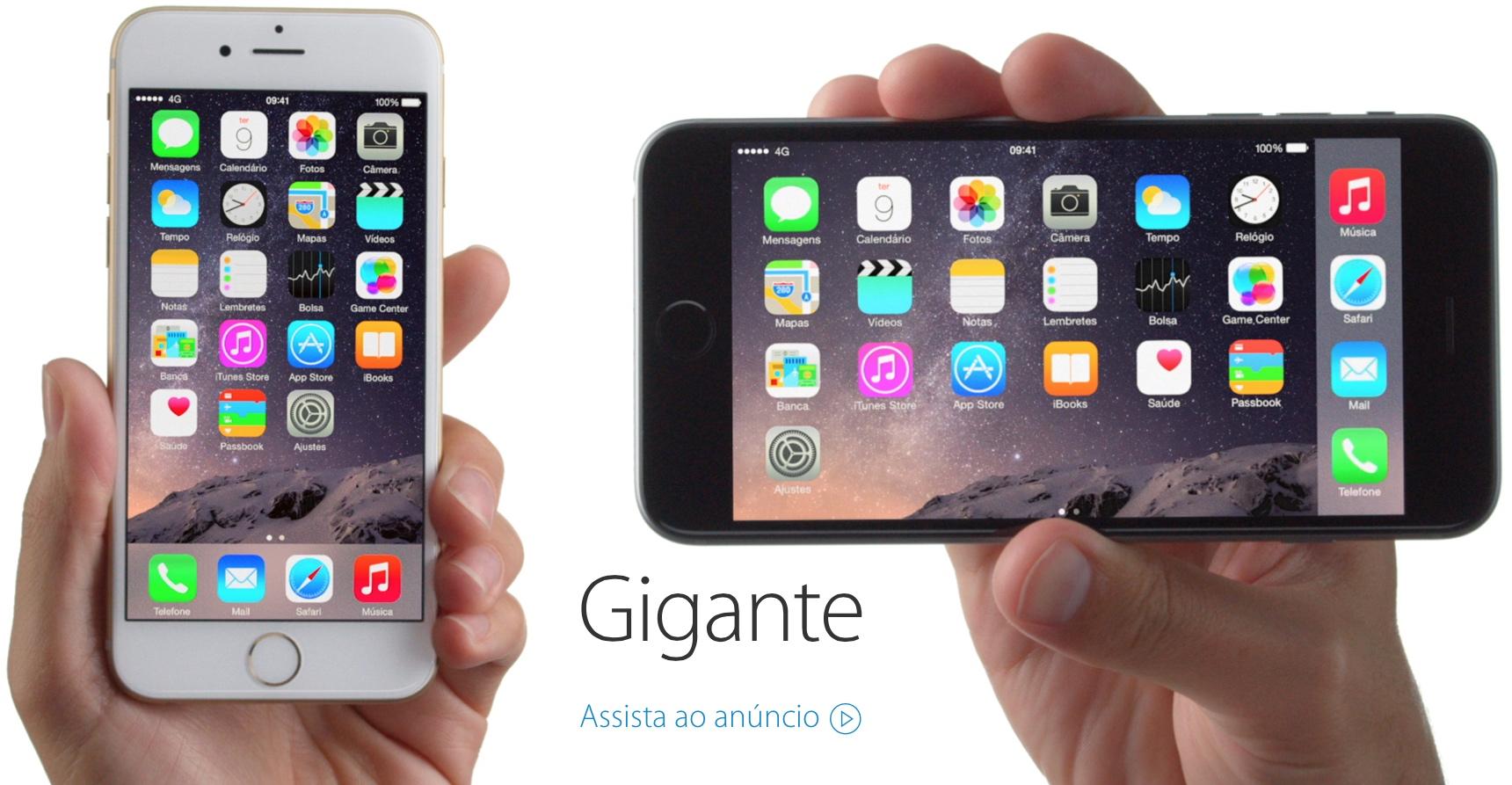 """Comercial """"Gigante"""", do iPhone 6"""