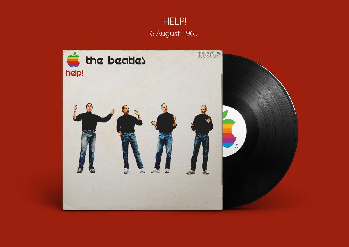 Álbuns dos Beatles pela Apple