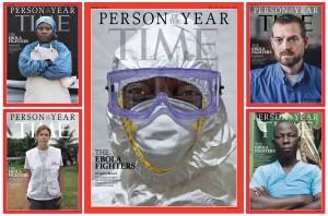 Revista TIME coloca combatentes do Ebola na capa