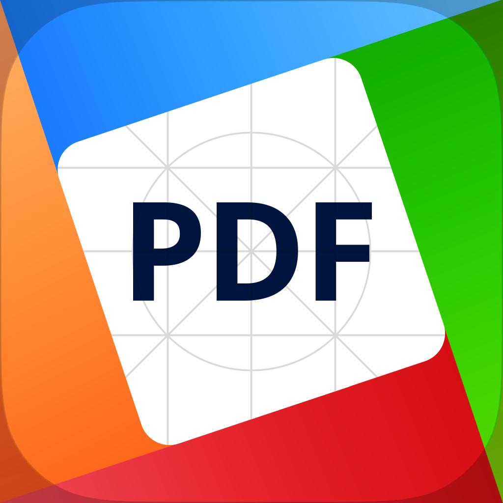 Ícone do app PDF Office para iPads