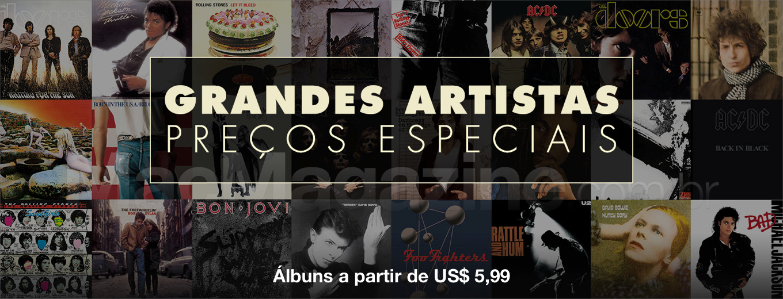 Grandes artistas a preços especiais