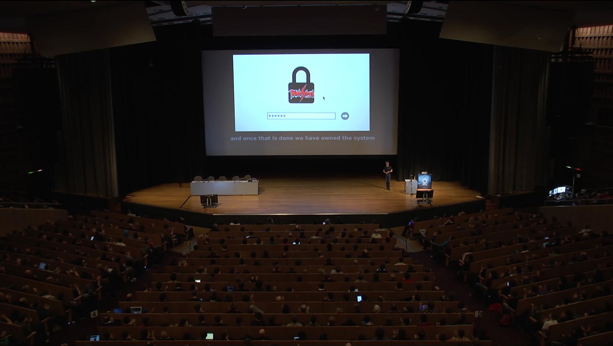 Palestra de Trammel Hudson no Chaos Computer Congress