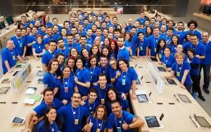 Empregados da Apple Zorlu Center