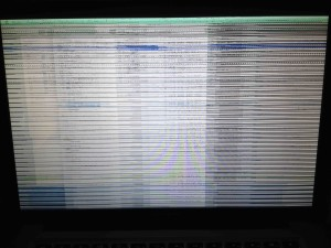 Gráfico problemático num MacBook Pro de 2011