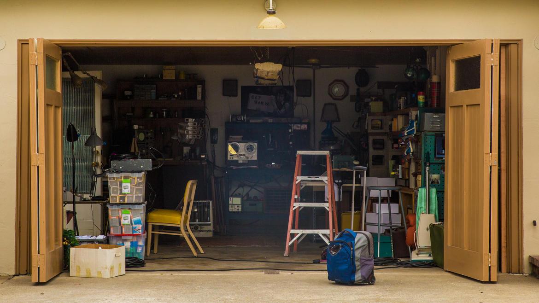 Filmagens na garagem original da Apple