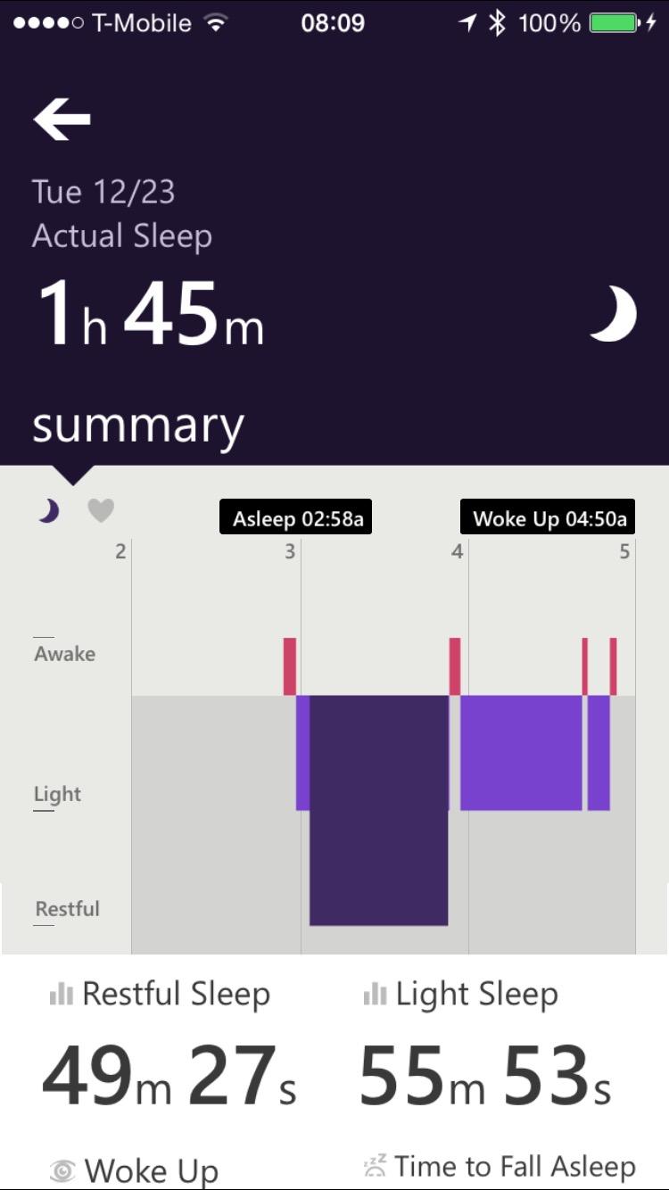 Microsoft Band - Sono