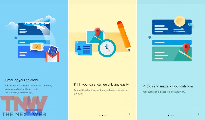 Google Agenda para iOS