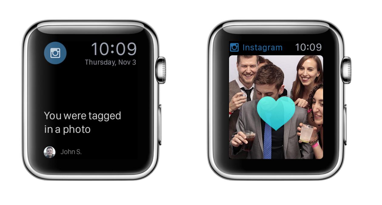 Conceito para o Apple Watch - Instagram