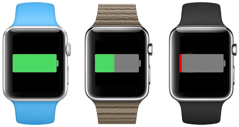 Bateria do Apple Watch
