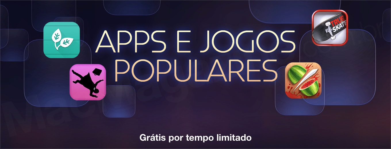 Banners - App e jogos populares