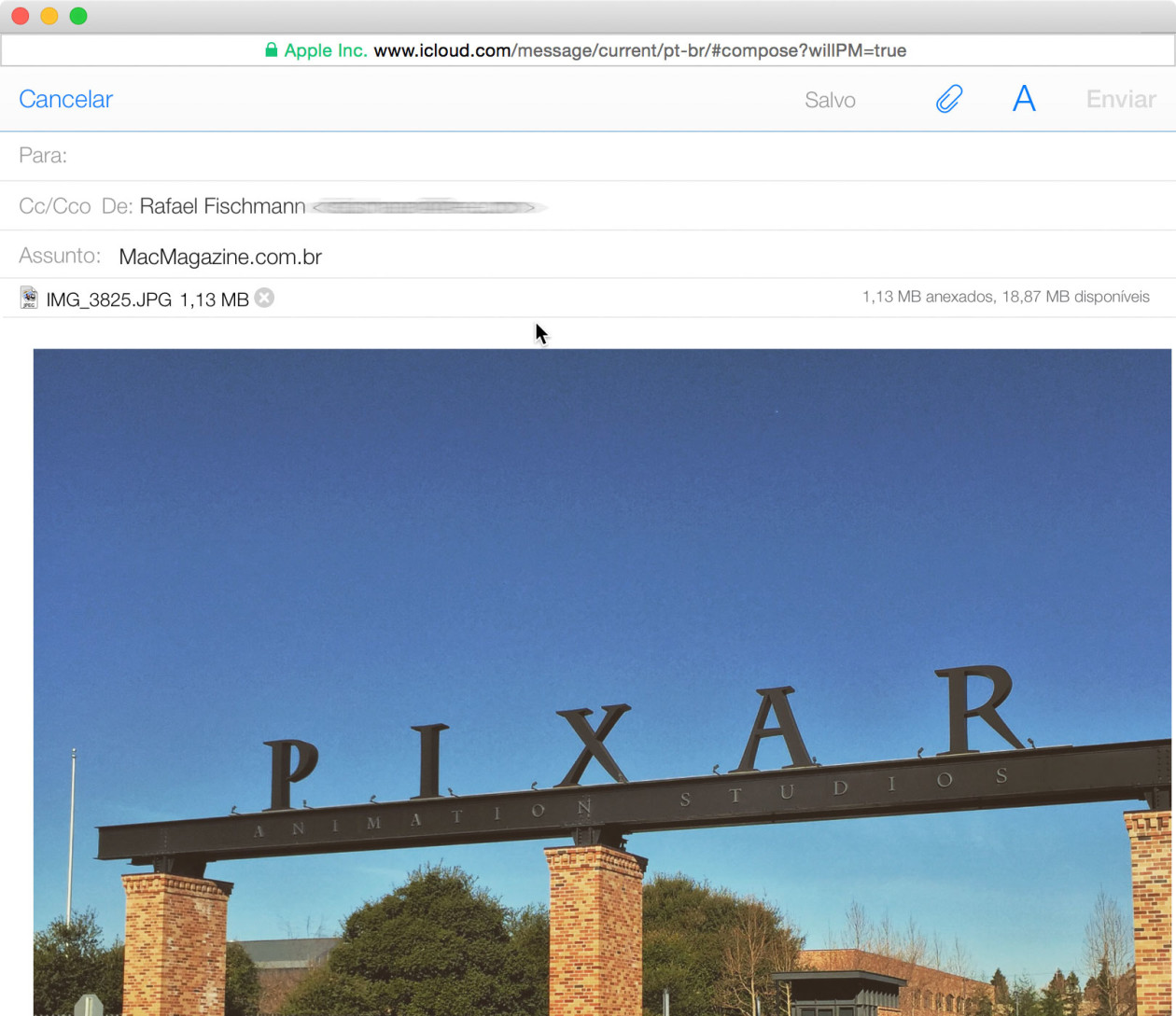Fotos no iCloud.com