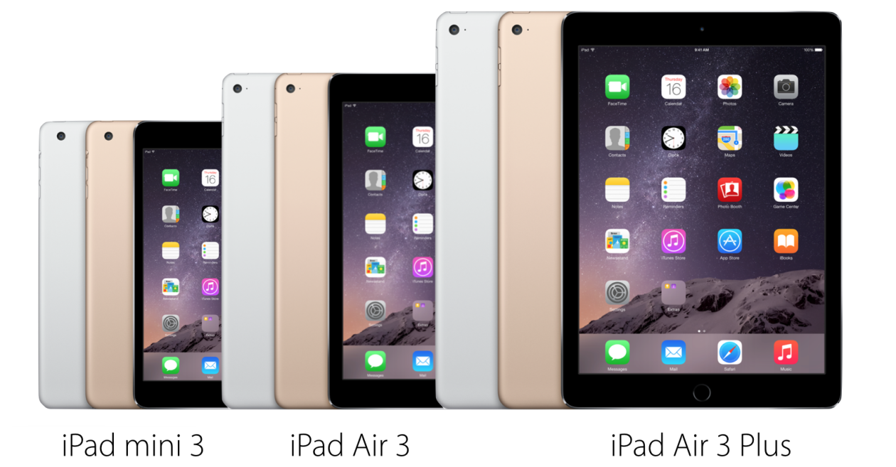 Linha de iPads (2015)