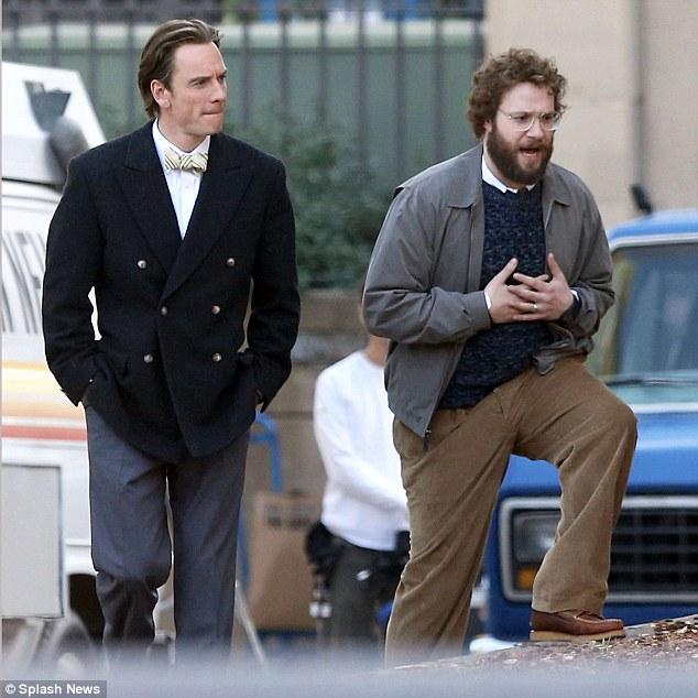 """Set do filme """"Steve Jobs"""""""