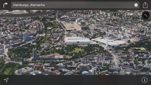Flyover em Hamburgo, na Alemanha