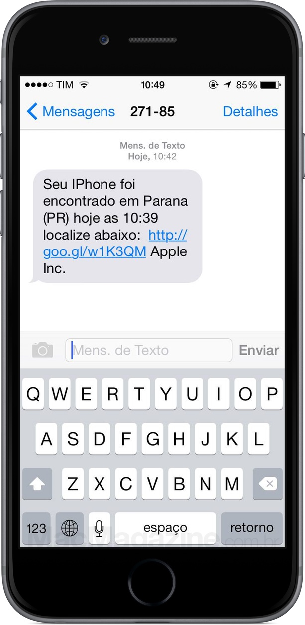 "Golpe ""phishing"" envolvendo a Apple"