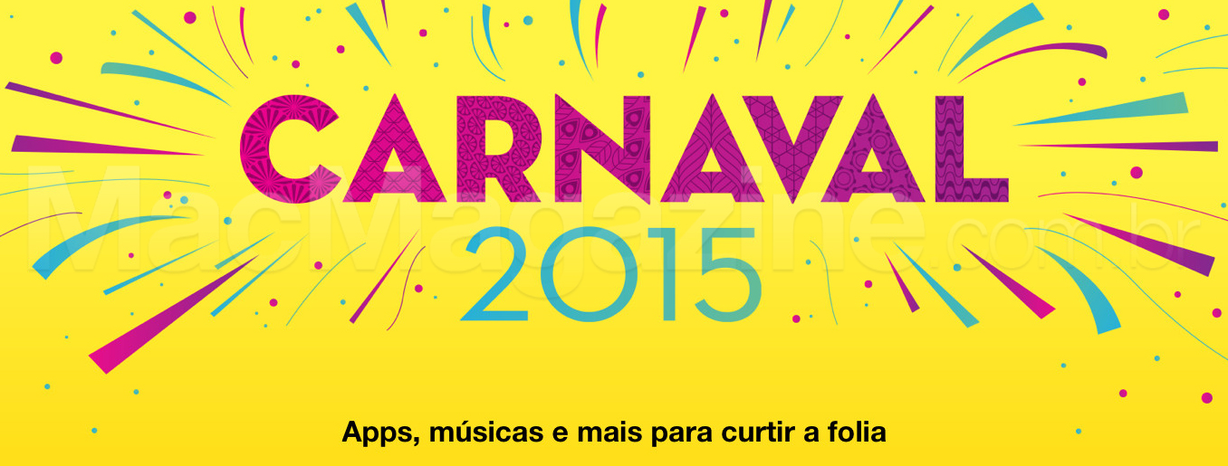 Carnaval 2015 na iTunes Store