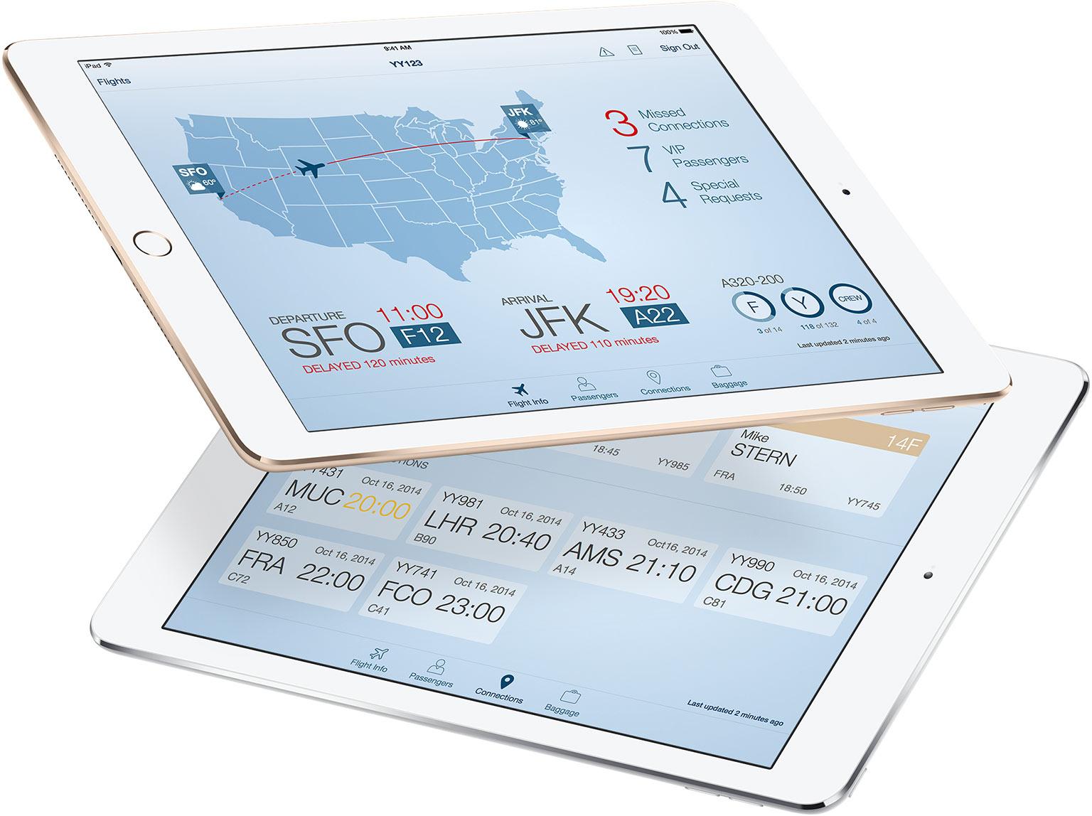 App Passenger+ (Apple + IBM)